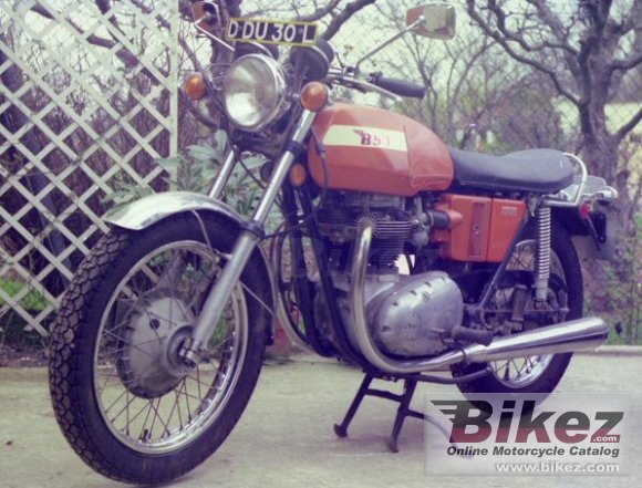 1971 BSA A 65 Lightning photo
