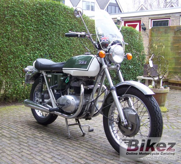 1971 BSA A 65 Thunderbolt photo