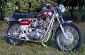 1972 BSA A 75 Rocket 3 photo