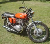 1972 BSA A 65 Lightning photo