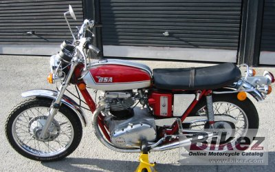 1972 BSA A 65 Thunderbolt photo