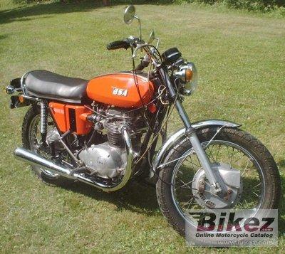 1972 BSA A 65 Lightning