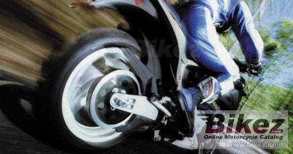 2002 Buell X1W White Lightning