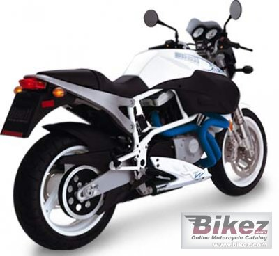 2002 Buell X1W White Lightning
