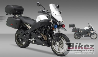 2010 Buell XB12XP Police photo