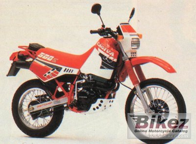 1988 Cagiva T4 500 E photo