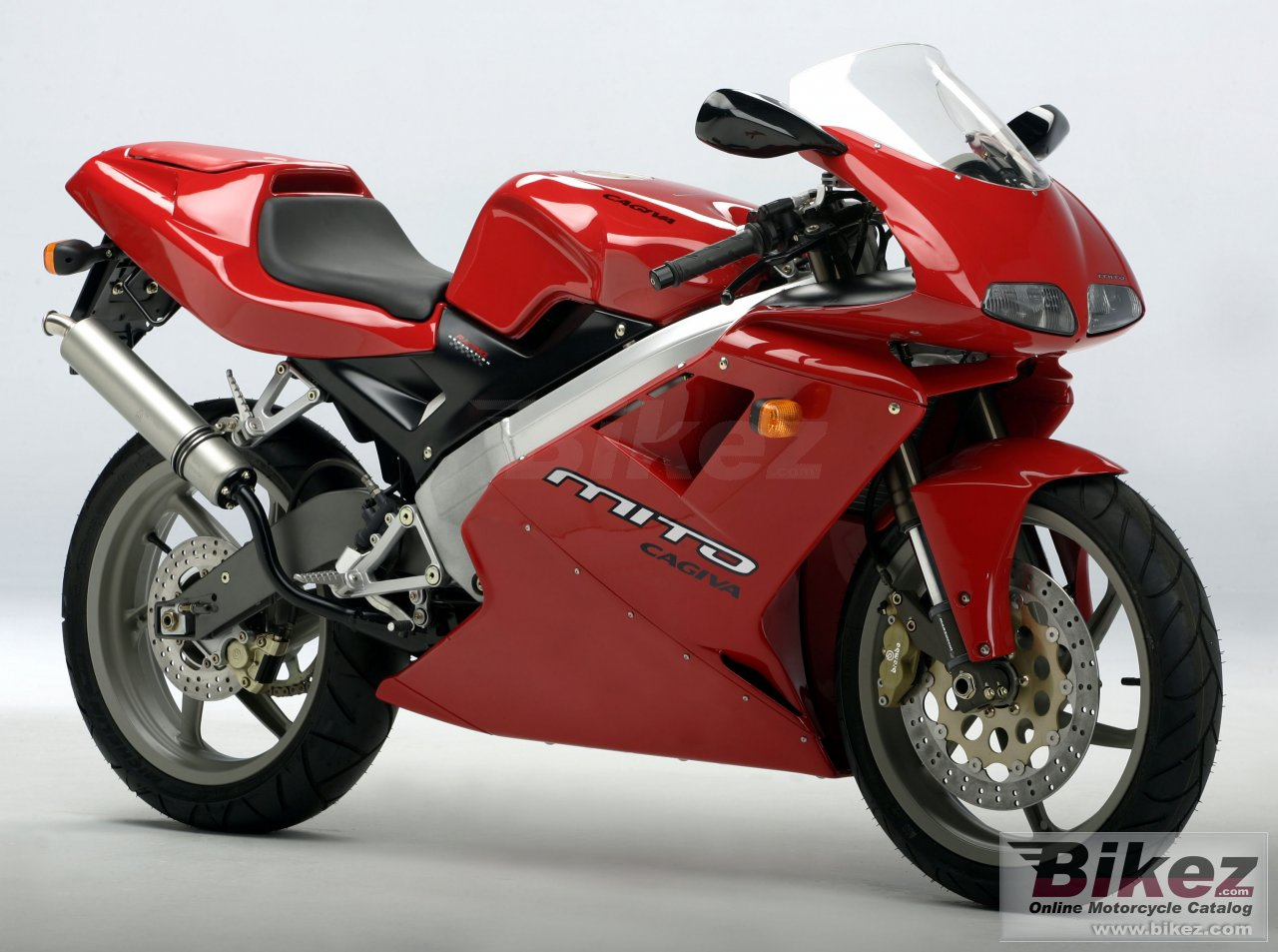 Big Cagiva mito 125 picture and wallpaper from Bikez.com