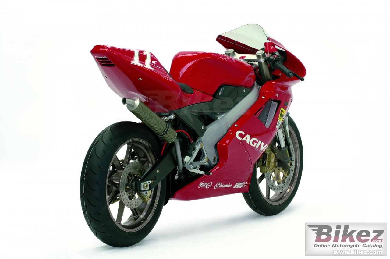 Big Cagiva mito sp 525 picture and wallpaper from Bikez.com