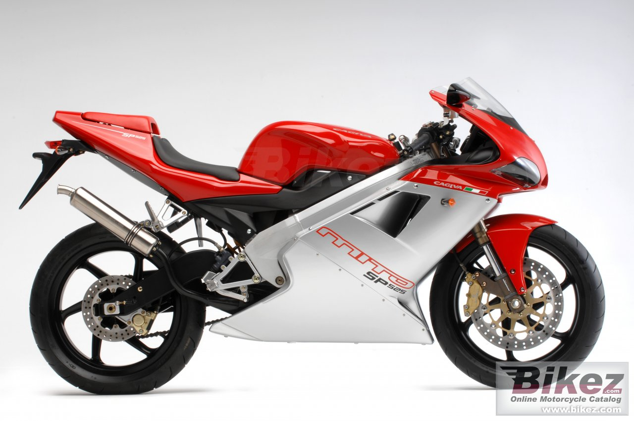 Big Cagiva mito sp525 picture and wallpaper from Bikez.com