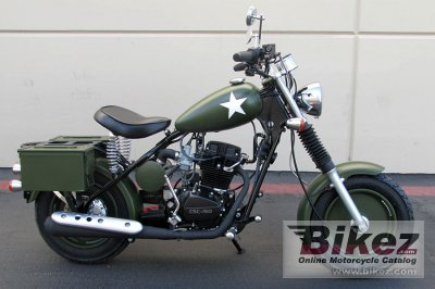 2014 California Scooter Military Sarge
