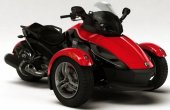 2009 Can-Am Spyder Roadster SM5