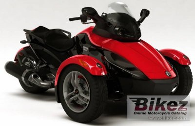 2009 Can-Am Spyder Roadster SM5 photo