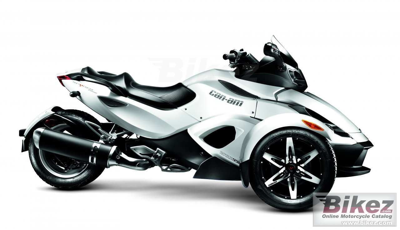 Big Can-Am spyder rs-s picture and wallpaper from Bikez.com