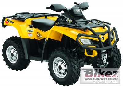 2010 Can-Am Outlander 800 EFI photo