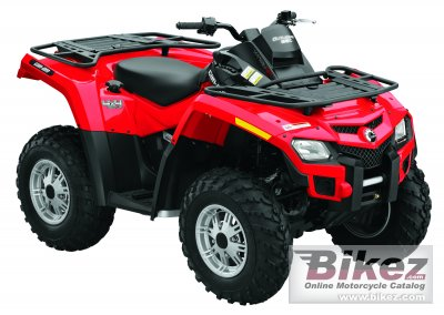2010 Can-Am Outlander 650 EFI photo