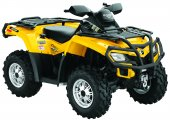 2010 Can-Am Outlander 650 EFI XT