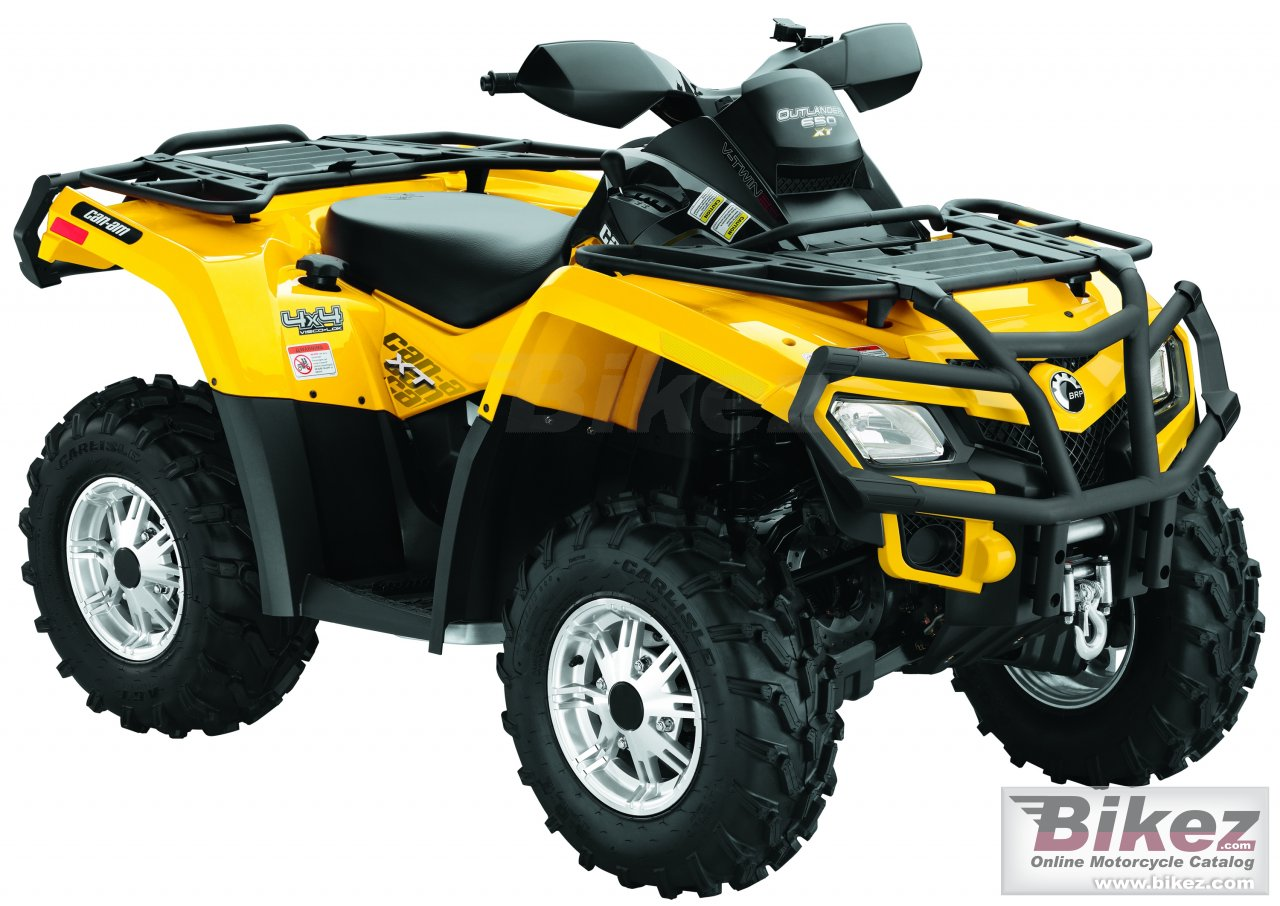 Big Can-Am outlander 650 efi xt picture and wallpaper from Bikez.com