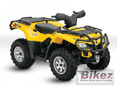 2010 Can-Am Outlander 400 EFI XT photo