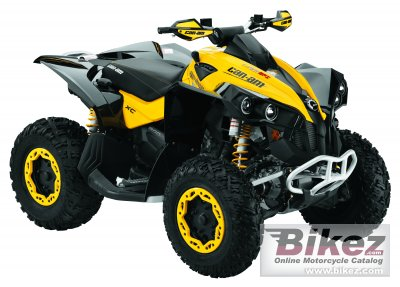 2010 Can-Am Renegade 800 EFI xc photo