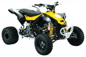 2010 Can-Am DS 450 EFI X mx photo