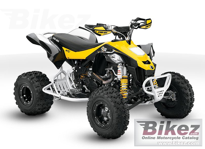 Big Can-Am ds 450 efi x xc picture and wallpaper from Bikez.com