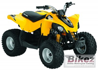 2010 Can-Am DS 90 photo