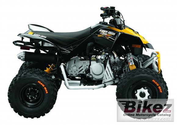 2010 Can-Am DS 90 X