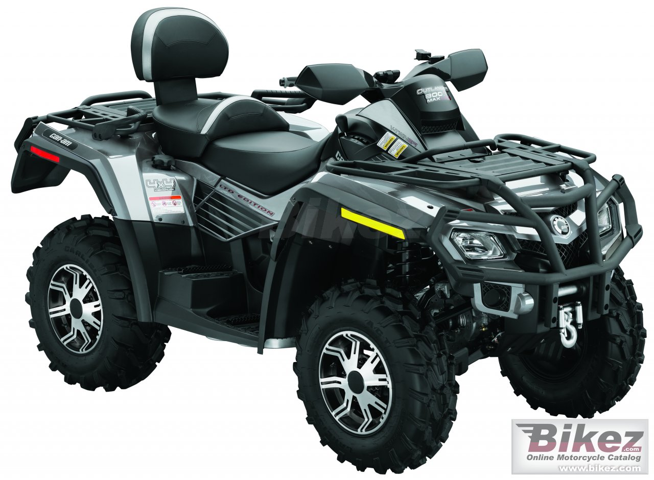 Can-Am Outlander Max 800 EFI  LTD
