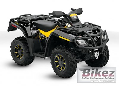 2010 Can-Am Outlander 650 EFI XT-P