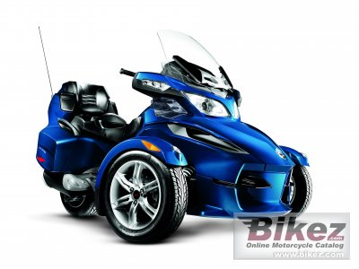 2010 Can-Am Spyder RT Audio