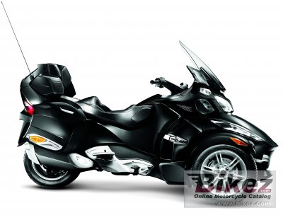 2010 Can-Am Spyder RT-S specifications and pictures