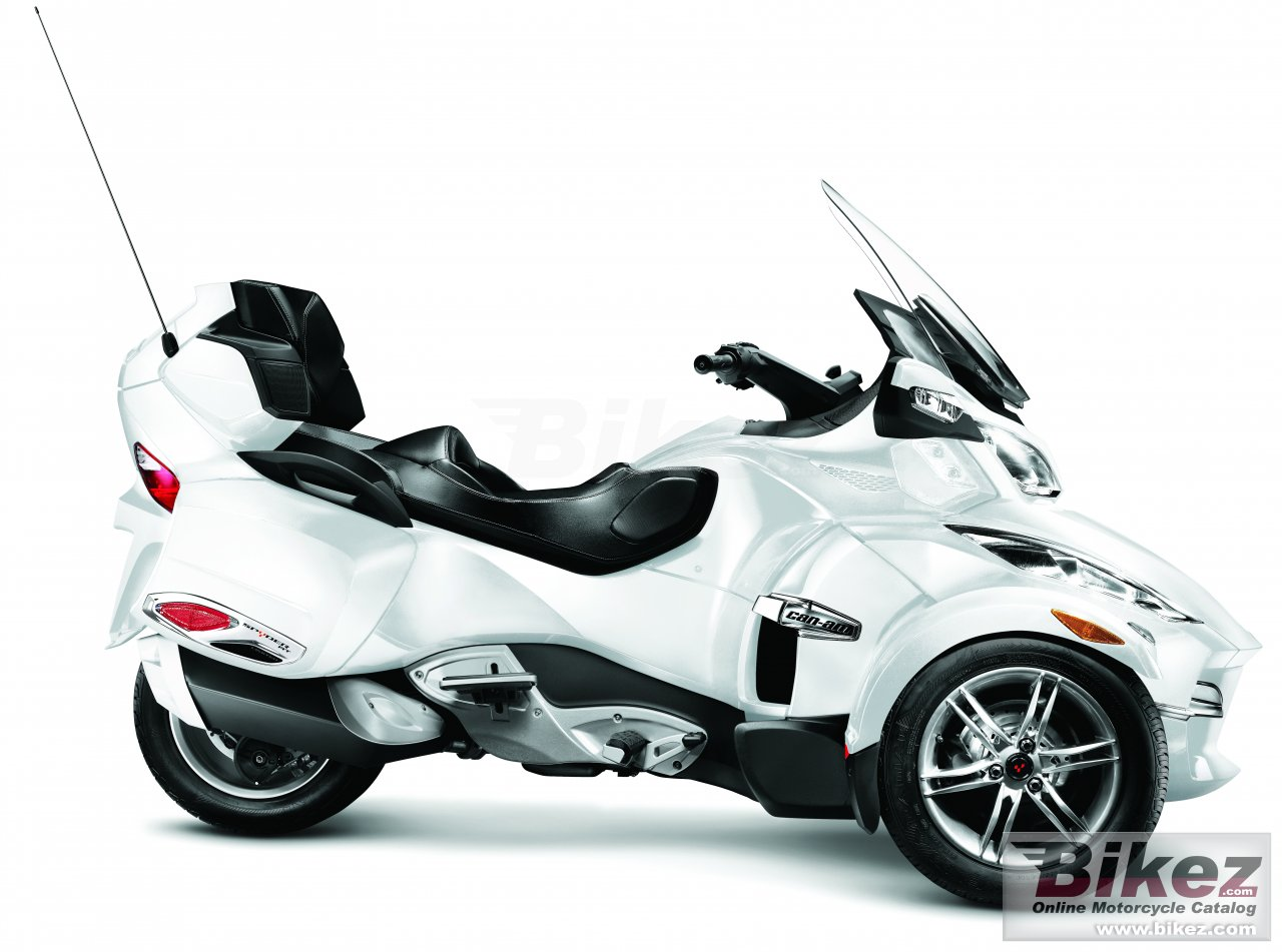 Big Can-Am spyder roadster rt limited picture and wallpaper from Bikez.com