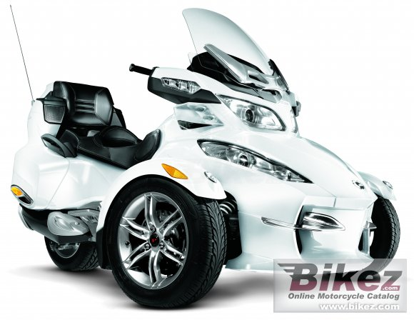 2011 Can-Am Spyder Roadster RT Limited photo