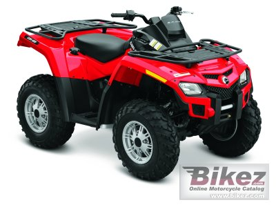 2011 Can-Am Outlander 800R photo