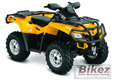 2011 Can-Am Outlander 800R XT photo