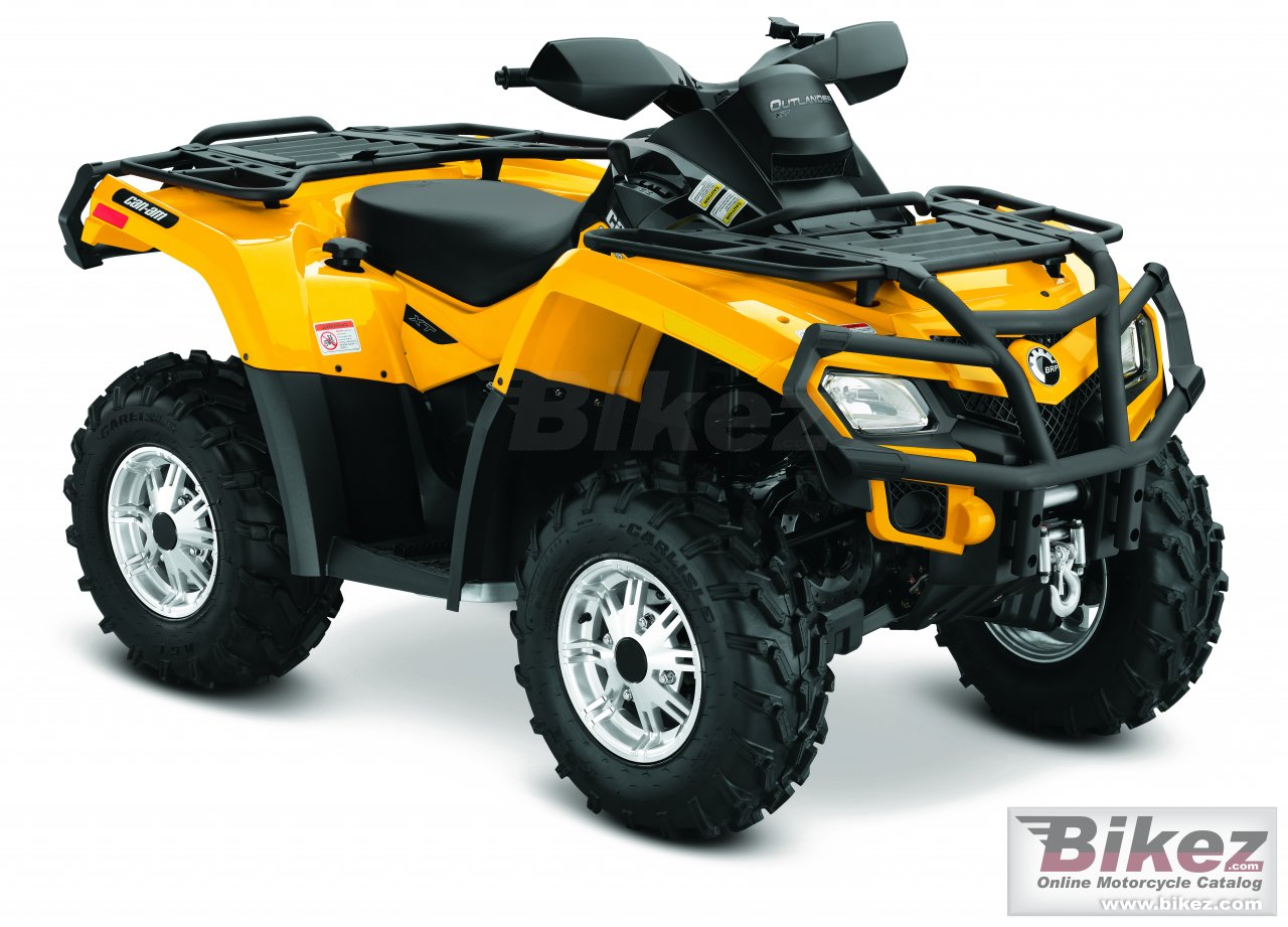 Big Can-Am outlander 800r xt picture and wallpaper from Bikez.com