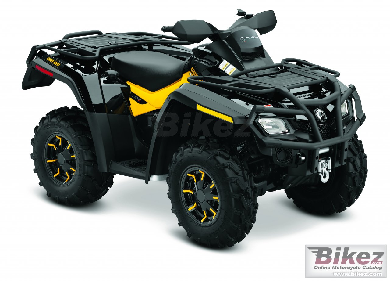 Big Can-Am outlander 800r xt-p picture and wallpaper from Bikez.com