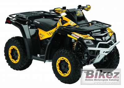 2011 Can-Am Outlander 800R X XC photo