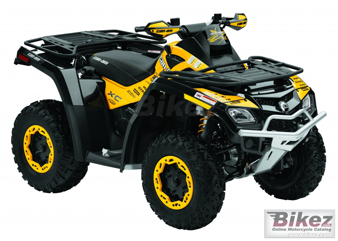 Big Can-Am outlander 800r x xc picture and wallpaper from Bikez.com