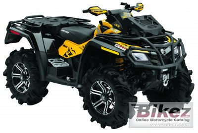 2011 Can-Am Outlander 800R X MR photo