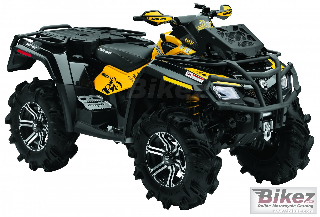 Can-Am outlander 800r x mr