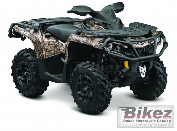 2012 Can-Am Outlander 1000 XT