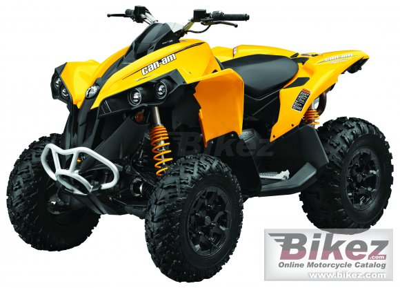 2014 Can-Am Renegade 800 R