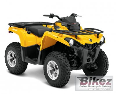 2014 can am outlander l dps 450 specifications and pictures. Black Bedroom Furniture Sets. Home Design Ideas
