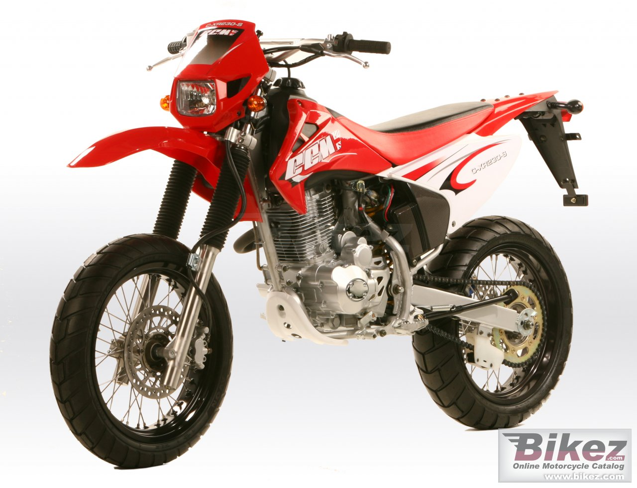 Big CCM c-xr230-s picture and wallpaper from Bikez.com