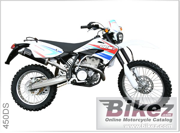 Big CCM 450 ds picture and wallpaper from Bikez.com