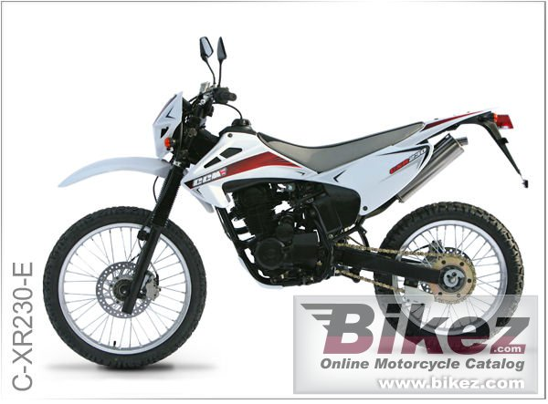 Big CCM c-xr230-e picture and wallpaper from Bikez.com