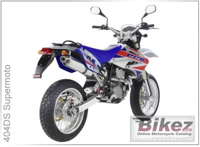 2010 CCM 404 DS Supermoto specifications and pictures