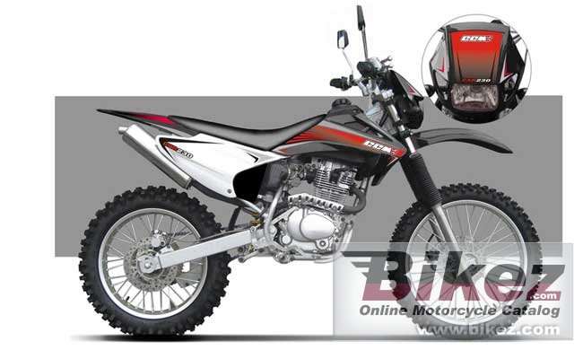 Big CCM c-xr230 picture and wallpaper from Bikez.com