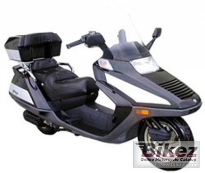 2007 Cf Moto 250 Freedom Scooter Specifications And Pictures
